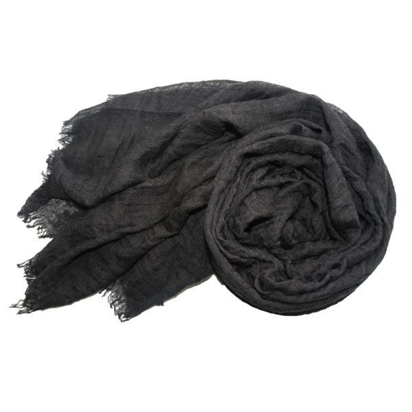 Black frayed