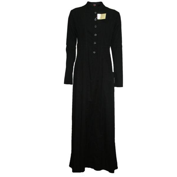 Black jean jilbab