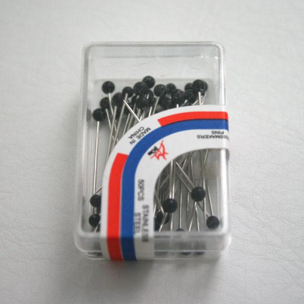 small black pins box