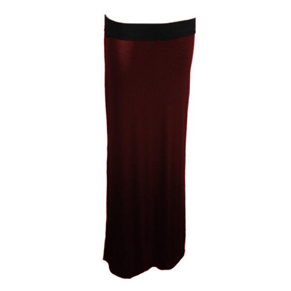 tube skirt red